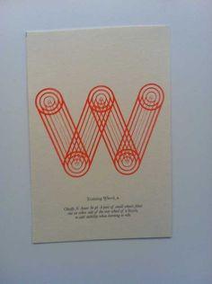 Laura Jackson's typographic experiments .