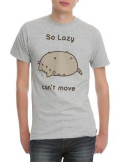 Pusheen So Lazy Slim-Fit T-Shirt