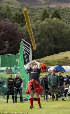 Her Majesty makes her annual visit to the Braemar games