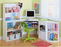 In this article I will give you a little idea for you that can give to your children, namely in the form of cute desks for the children.