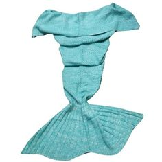 Hodges Adult Crochet Mermaid Blanket - Aqua ($30) ❤ liked on Polyvore featuring home, bed & bath, bedding, blankets, aqua, aqua blue bedding, aqua bedding, cars bedding, plush blankets and plush bedding