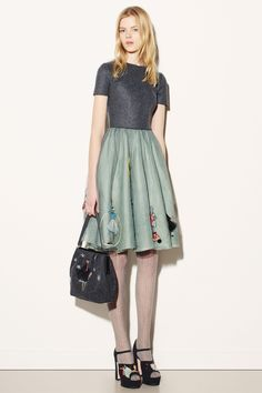 RED VALENTINO COLLECTION 2015 fall