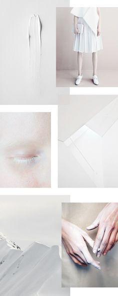 / white moodboard