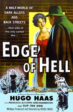 Edge Of Hell - 1956 - Movie Poster