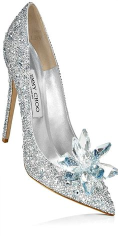 Absolutely gorgeous!! <3 Jimmy Choo ♥✤ Cinderella Glass Slipper Interpretation