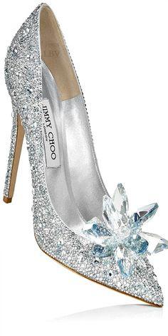 Jimmy Choo ♥✤ Cinderella Glass Slipper Interpretation