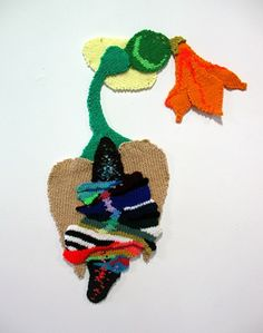 Valerie Anne Molnar - Abstract Knitted Wall Art
