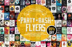 100 Professional Print-Ready Event Flyers - only $9! NOW ON: 100 Professional Print-Ready Event Flyers - only $9!  Expires: June 30 2017 11:59 pm EST  Word of mouth is still the best means of advertising. And with this Mighty Deal you'll have plenty to shout about. Get 100 high-quality party and event flyers covering everything from jazz concerts to worship services. Fully editable PSD files let you easily change up colors text images and more.  Highlights:  Quickly and easily create…