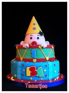 Carnival Cakes, Circus Cakes, Clown Cake, Circus Party, Cute Cakes, No Bake Cake, Amazing Cakes, Fondant, Cake Decorating