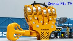 Time for a little playing: This is the Cranes Etc TV review of WSI's 1/50 scale model of the Sarens SGC-120 Ring Crane. The model number is 10117. The full review is on the Cranes Etc ...