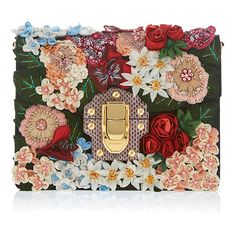 Dolce & Gabbana Brocade Floral Clutch (26.480 RON) ❤ liked on Polyvore featuring bags, handbags, clutches, floral, purses, brocade handbags, flower print purse, brocade purse, floral purse and dolce gabbana handbags