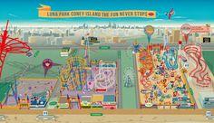 Luna Park Coney Island, Brooklyn, NY