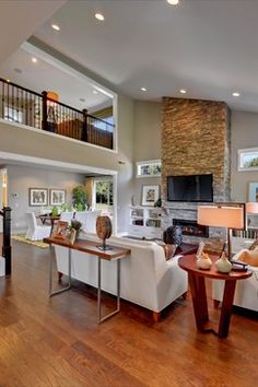 Beclan - transitional - living room - seattle - Quadrant Homes. So relaxing, so peaceful
