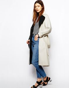Grey Trenchcoat by Asos. Buy for $89 from Asos