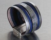 Bracelet manchette Anais By Miss Go Bijoux #bijou #bracelet femme #bracelet cuir www.bymissgobijoux.com