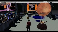 New science fiction series coming soon  Mars Station with real  research