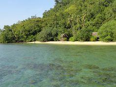Bungalows on the Beach, Pulau Cubadak, West Sumatra, Indonesia
