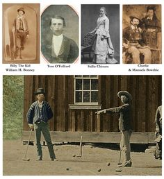 Those identified in the new Billy The Kid Photo.