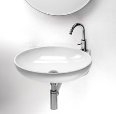 Hastings Round Wall Mounted Sink