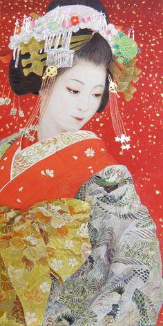 Artist: M.Kurokawa Reframing the Geisha