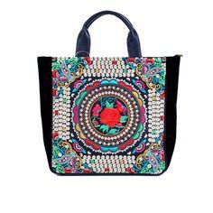 Yunnan Ethnic Embroidery Handbags-29-8485