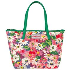 Painted Daisy Small Leather Trim Tote | Totes | CathKidston