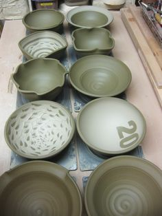 bowl demo 8...love the bowl with number on it