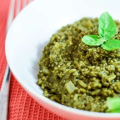 Superpowered Quinoa Vegan Risotto Vegan Side Dishes, Food Dishes, Main Dishes, Spirulina Recipes, Vegan Risotto, Quinoa, Vegan Recipes, Clean Eating, Gluten Free
