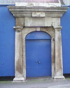 Architectural remnant down in the Markets area. No idea what it was attached to, or even if it's in its original location. Georgian, Dublin, Stairs, Victorian, Windows, Doors, The Originals, Architecture, Home Decor