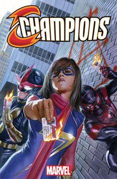 Champions a nova HQ jovem da Marvel  A Marvel Comics divulgou as primeiras páginas referentes ao seu novo título chamado Champions, que promete trazer uma pegada jovem revolucionária aos leitores. Confira muito mais no link!