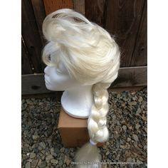 cheap elsa wig!!!