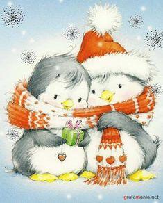 Pinguin - Kerstmis