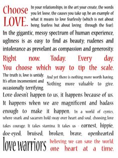 The (fearless) Love Manifesto Words Quotes, Me Quotes, Sayings, Live Your Life, Of My Life, Love Warriors, Choose Love, Great Words, Piece Of Me