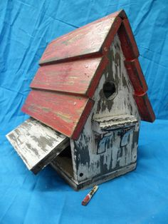 Birdhouse idea.