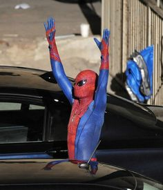 The Amazing Spider-Man - andrew garfield set image