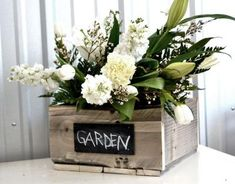I want to make this!  DIY Furniture Plan from Ana-White.com  Inspiredby vintage soda crates, this flatware caddy was made from reclaimed food pallets. You can make this crate with new boards too. This easy project features a sturdy handle and four cubbies, suitable for bottles, gardening tools, or even a wedding centerpiece.