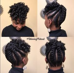 Love this updo @happyhealthykp  Read the article here - http://blackhairinformation.com/hairstyle-gallery/love-updo-happyhealthykp/