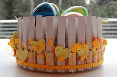 Lavoretti per Pasqua con le mollette per il bucato. 20 idee da copiare! Home, Spring