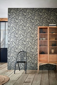 Panoramic scenes, graphic prints, artworks and archive designs, it's easy to make an impact with the latest wall-coverings. New Wallpaper, Fabric Wallpaper, Wallpaper Ideas, Wallpaper Companies, Simple Furniture, Victorian Design, William Morris, Decoration, Interior Styling