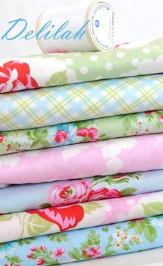 Tanya Whelan - Delilah....I am in love with this line...I wonder if she will adopt me.....OMG....I love this line...I owuld love to have a yard of everyone.