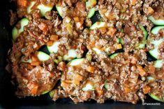 Uusintana tajuton kesäkurpitsavuoka – Mukana MORE MAKU! Paleo, Keto, Bolognese, Good Food, Food And Drink, Low Carb, Dinner, Kitchen, Recipes
