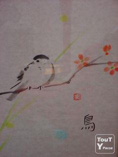 Photo Cours de calligraphie & peinture japonaise ! Expérience unique !!! image 1/5