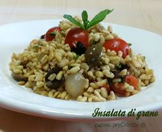 Insalata di grano, ricetta piatto freddo | cucina preDiletta