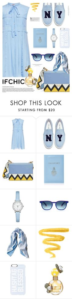 """IFCHI SUMMER SALE"" by tinkabella222 ❤ liked on Polyvore featuring N°21, Joshua's, Prada, Mark Cross, Etnia Barcelona, Asprey, Private Party, H&M and Marc Jacobs"