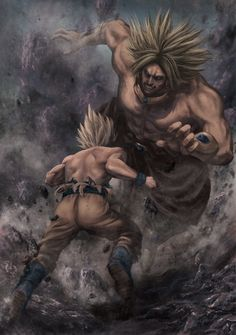 The return of Broly by UniversalArtGallery