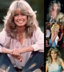 This woman had iconic hair her entire life.  Best hair award for sure!