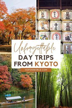 Day Trips from Kyoto, Japan | Looking for the best side trips from Kyoto? Here are 14 of the best day trips from Kyoto, including top sights such as Himeji Castle, Osaka, Nara, Arashiyama, and much more! Find out what to do, how to get there, and get top travel tips to help you fully enjoy your visit. #kyotodaytrip #kyotojapan #daytripfromkyoto #kyoto #mustdothingsinkyoto #kyotodaytour