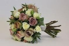 memory lane rose and gold wedding flowers - Google Search
