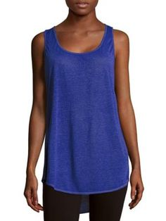 ANDREW MARC Textured Asymmetric Tee. #andrewmarc #cloth #tee