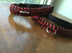 Paracord Adjustable Dog Collars